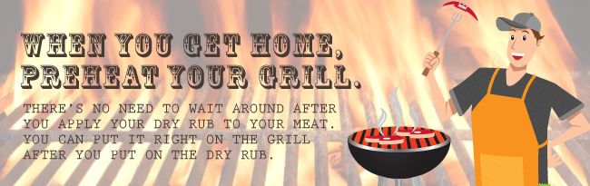 Preheat Your Grill