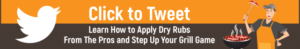 How To Apply Dry Rub Tweet